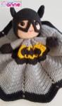 Amigurumi Batman Uyku Arkadaşı Yapılışı