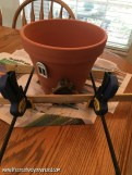 Bahçe İçin Peri Evi Saksı Yapımı-4