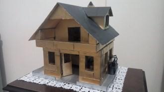 Kartondan Ev Yapımı-1