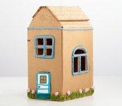 Kartondan Ev Yapımı-6