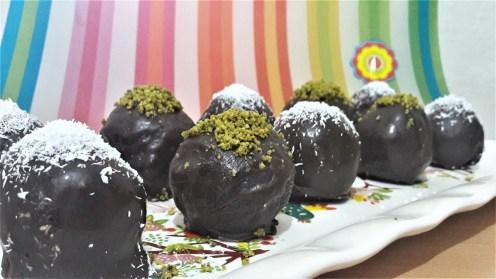 Çikolatalı topları tarifi