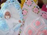 En Güzel Bebek Battaniyesi Modelleri-8