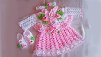 Kız Bebek Örgü Modelleri-23