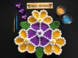 Çiçek lif örneği