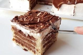 Bisküvili pasta tarifi yapılışı