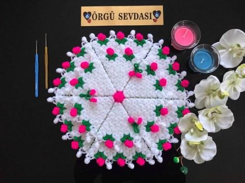 Çiçek bahçesi lif modeli yapılışı