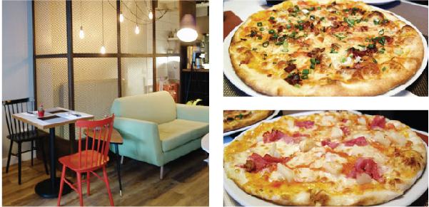 400-Derece içerisi ve pizza foto