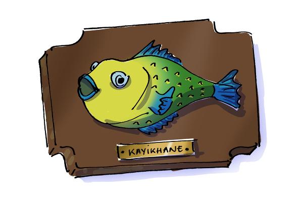 Kayıkhane fish restaurant in Zekeriyaköy