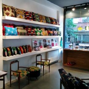 Inside 3rd Culture store in çukurcuma