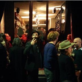 People having drinks in front of Efendi