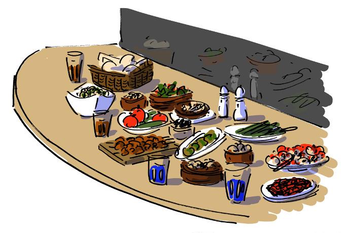 Ali Ocakbaşı: Meat with a view