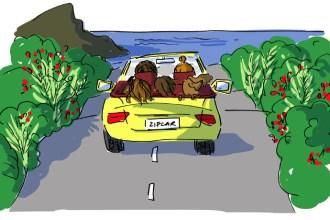 Zipcar #2 illustration