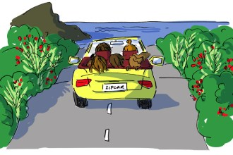 Zipcar #2 illustration