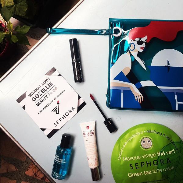 Sephora Seyahat Boyu Güzellik foto
