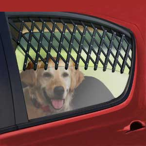Expandable Car Window Pet Gate
