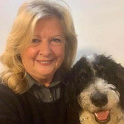 Deb - with dog Farley