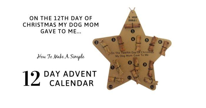 DIY adventskalender van caninecompilation.com