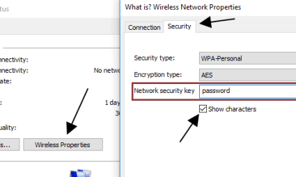 Getting the Wi-Fi Password
