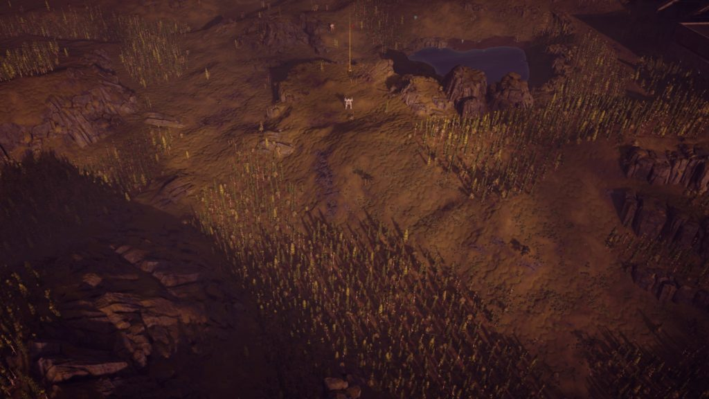 Image in game depicting that no subtitles are being shown for team chatter.