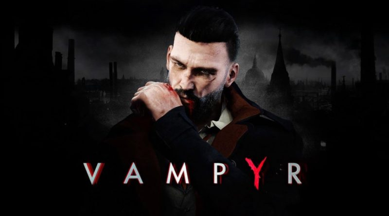 Vampyr title screen