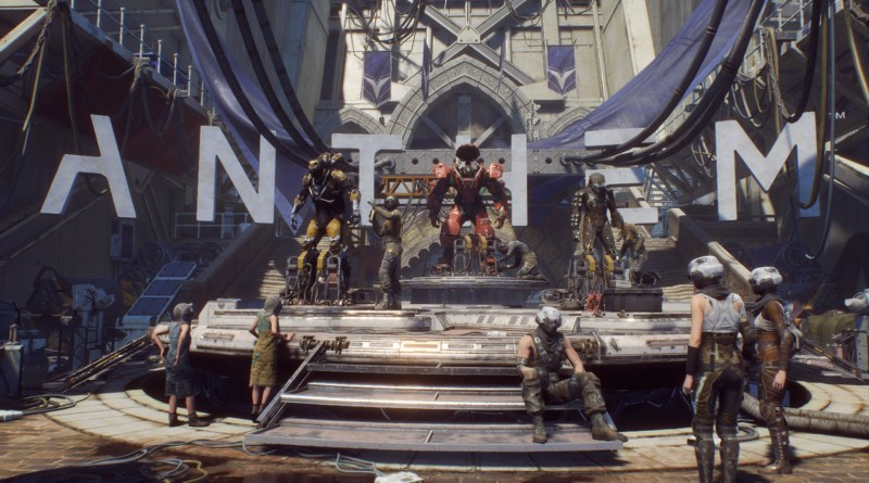 Anthem start screen