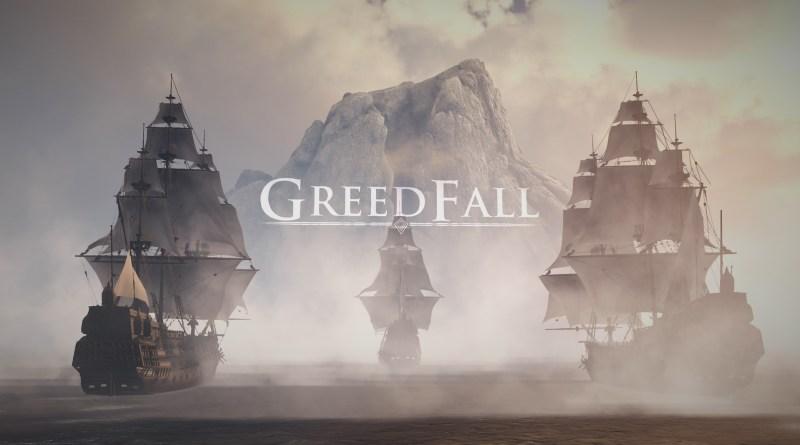 Greedfall title screen