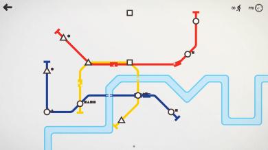 Visually Impaired Game Review – Mini Metro