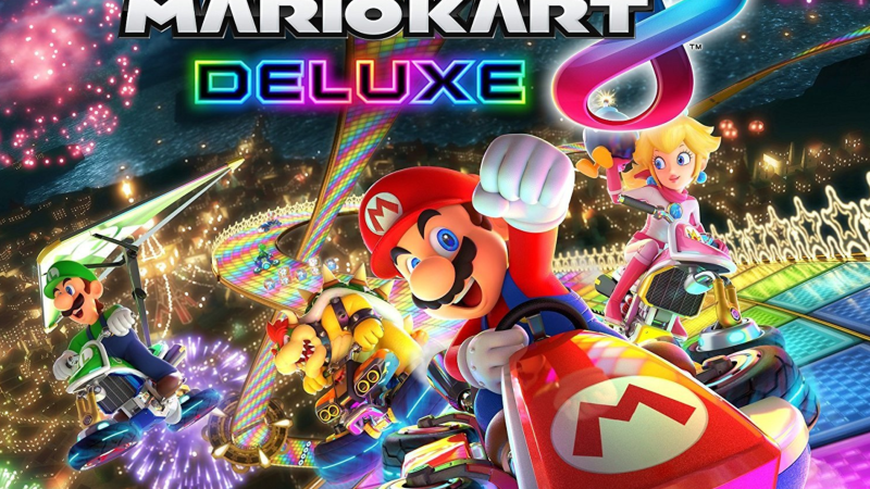 Visually Impaired Review – Mario Kart 8 Deluxe