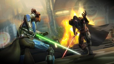 Mobility Review – Star Wars: The Old Republic