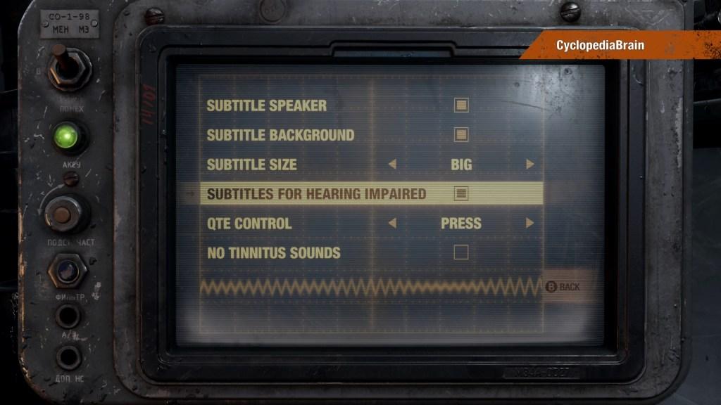 Updated accessibility menu.