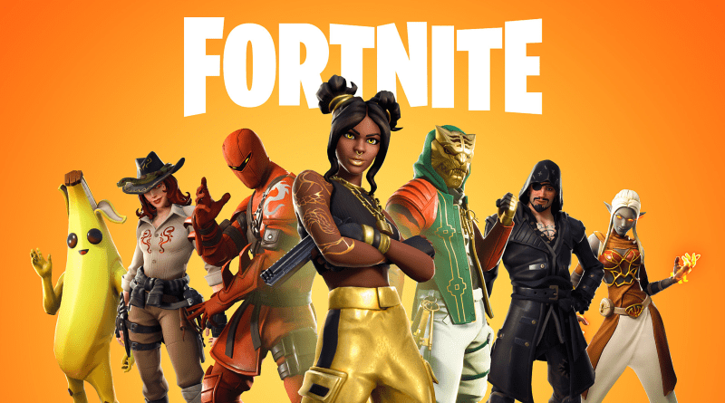 Fortnite cover art.