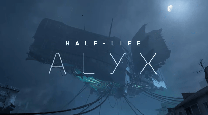 Half-Life: Alyx title screen