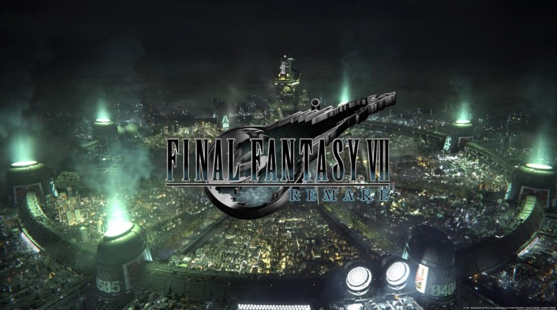 FFVII title screen.