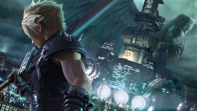 FF7R cover art
