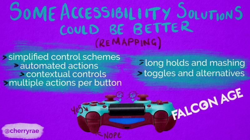Some accessibility solutions could be better