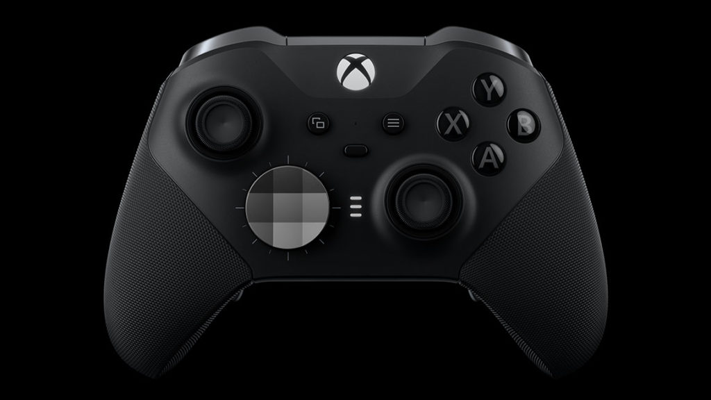 Front view of the Elite Controller.