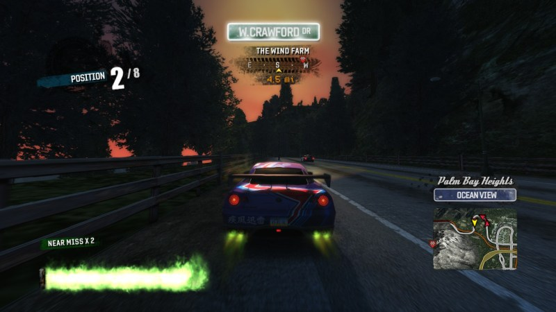 Burnout Paradise Remastered racing