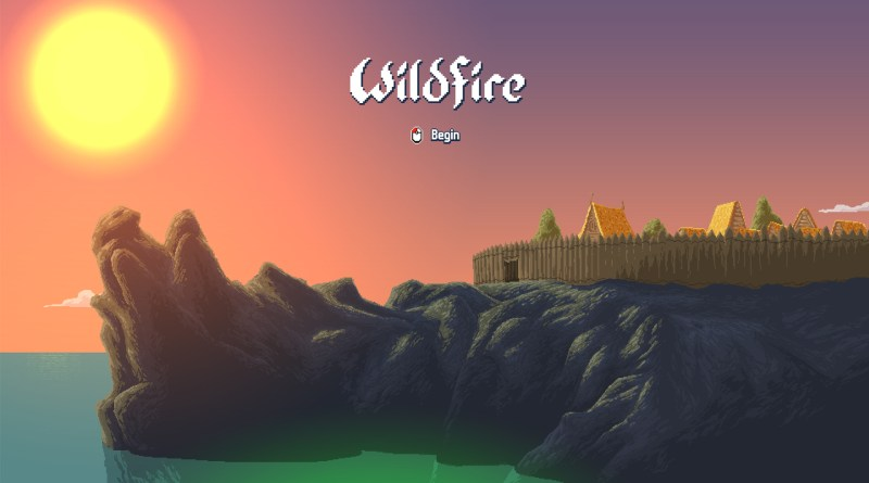 Wildfire title screen