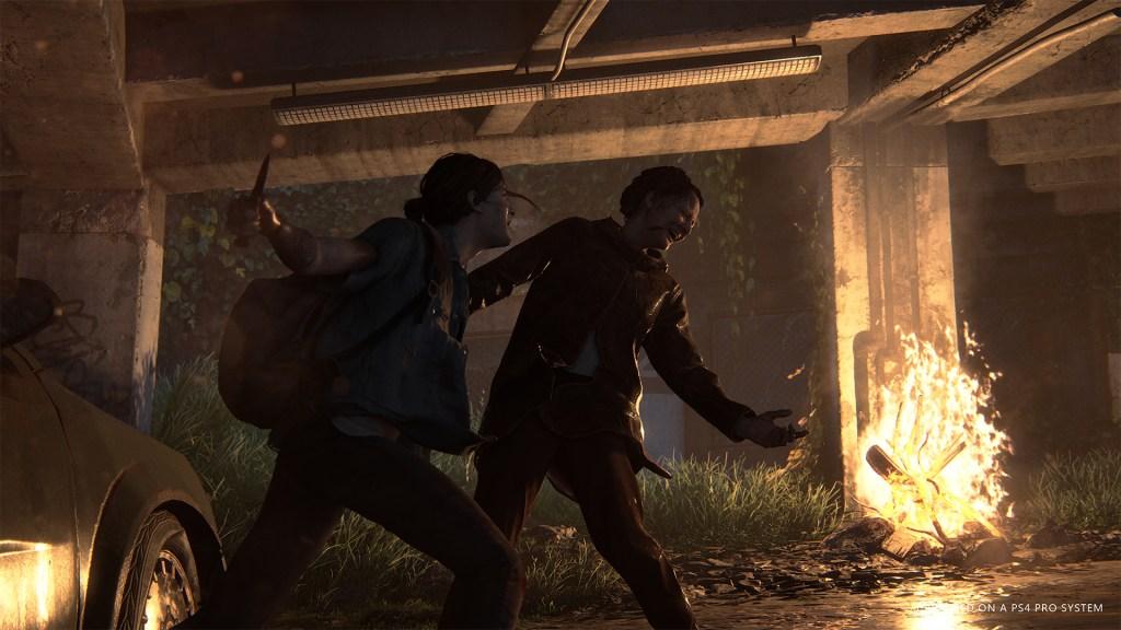 The Last of Us 2 Ellie in combat
