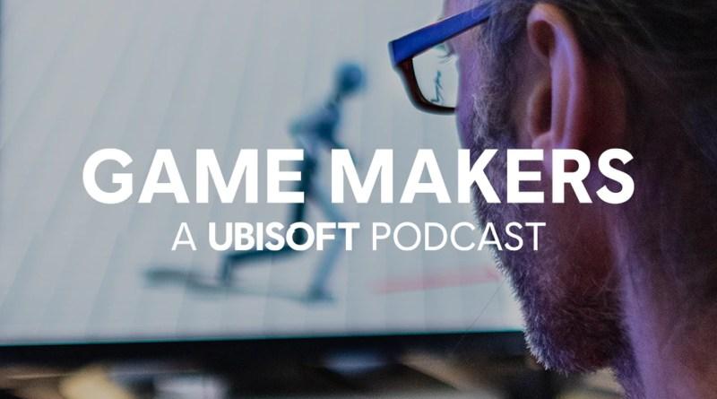 Ubisoft game makers podcast logo