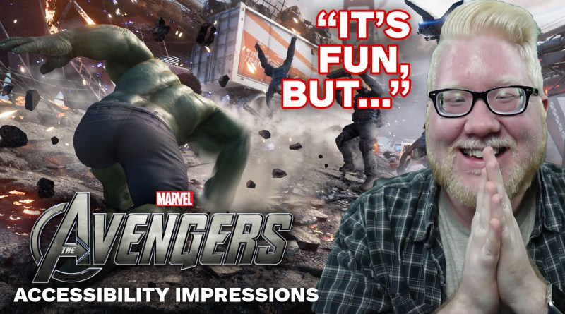 Marvel's Avengers Beta — Accessibility Impressions