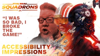 Star Wars Squadrons — Accessibility Impressions
