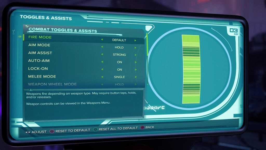 Toggles & Assists