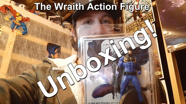 The Wraith Action Figure Unboxing thumbnail