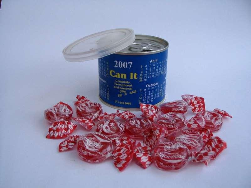 Promotional Calendar Tin Cans