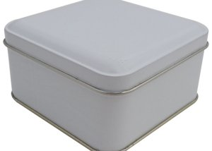 Cr18W 99x99x50-Custom Square Tin Box