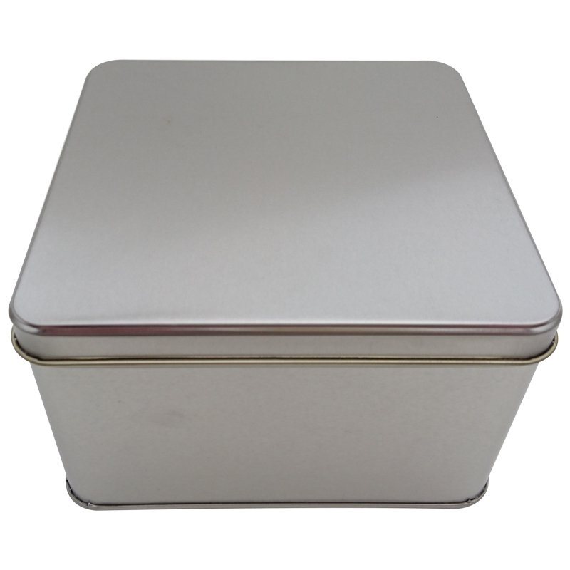 Cr25L 166x166x100-Custom Square Tin Box