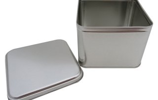Cr25-B 133x133x100-Custom Square Tin Box