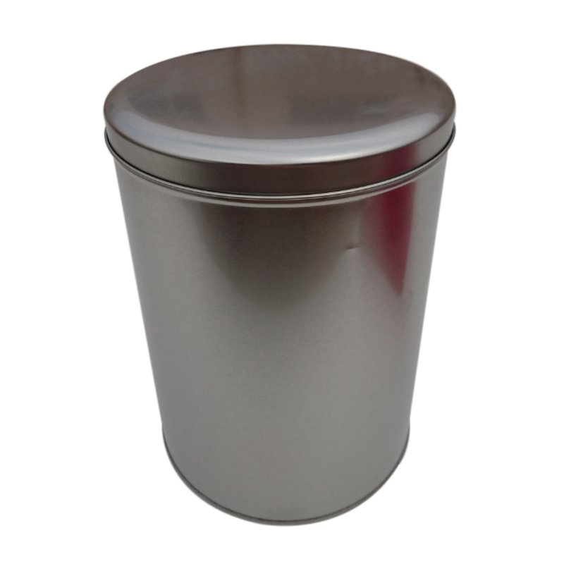 Cr13-B 179x240 Metal Round Tin Box
