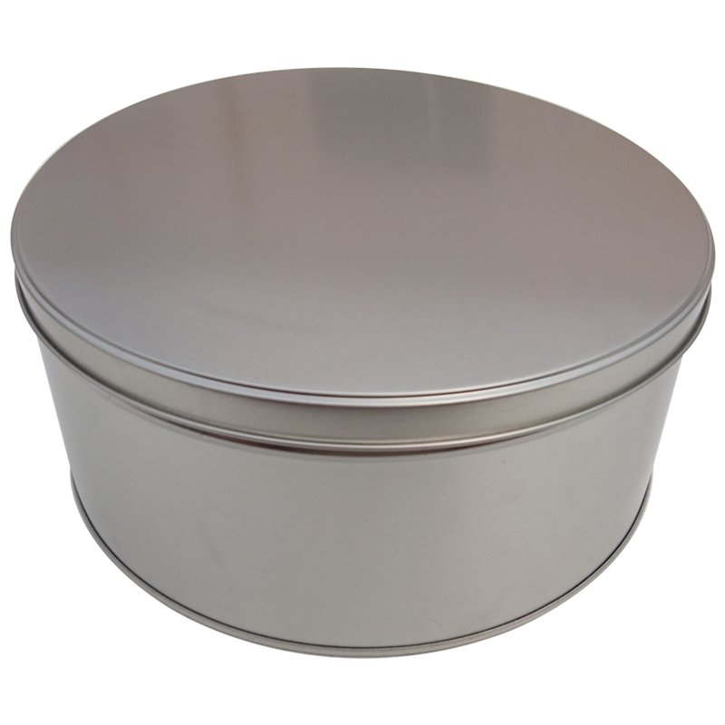 Cr15 228x100 Round Metal Cake Tin